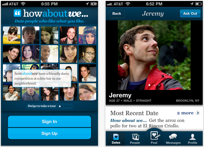 HowAboutWe Dating: A Completely Free Dating App & Service!