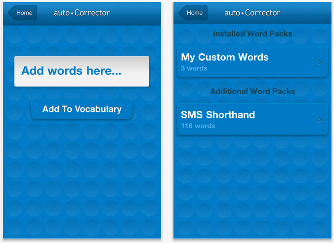 AutoCorrector - Take Control Of Autocorrection, For Just $0.99