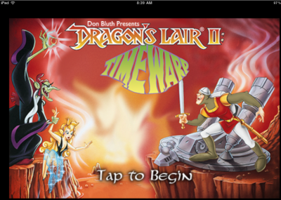 Dragon's Lair 2: Time Warp Arrives For iOS