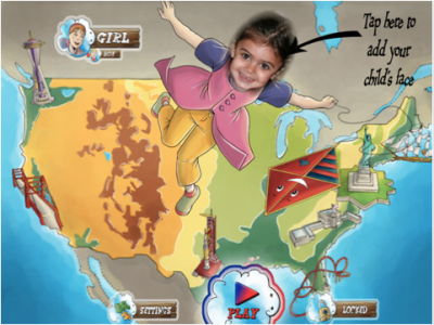 Kids Can Visit Major Cities In A Trip In The USA - Win A Copy!
