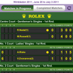 Tennis Fans, Keep Up With Wimbledon News From The Official iPhone App