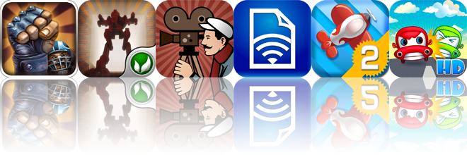 iOS Apps Gone Free: Speedball 2 Evolution, Red Storm, Silent Film Director, And More