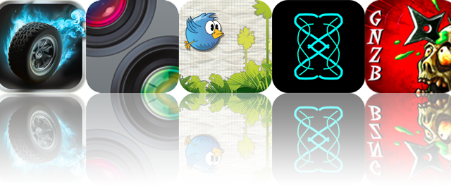 iOS Apps Gone Free: Death Rally, WhistlePaint, Line Birds, And More