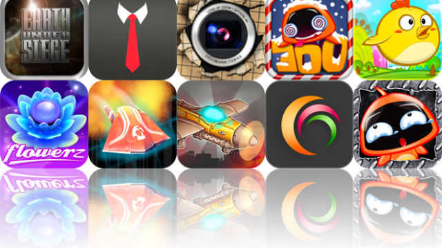 iOS Apps Gone Free: Earth Under Siege, Tie Right, Doodle Cam, And More