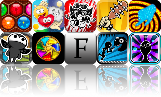 iOS Apps Gone Free: Flower Board, Happy Pillars, Dogfight 1951, And More
