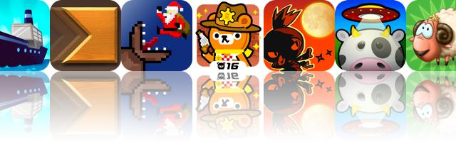iOS Apps Gone Free: Boom Boat, Cross Fingers, Super Mega Worm Vs Santa, And More