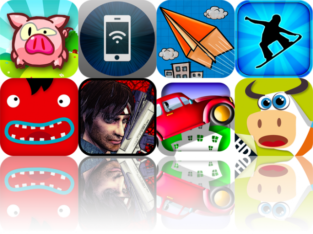 iOS Apps Gone Free: Pig Shot, Phone Drive, Paper Pilots, And More