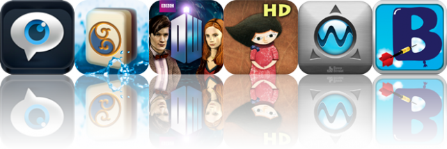 iOS Apps Gone Free: Fieldforce, Mahjong Elements, Doctor Who: The Mazes Of Time, And More
