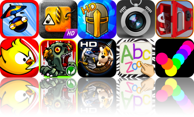 iOS Apps Gone Free: Parachute Ninja, Curlington HD, Legendary Wars HD, And More