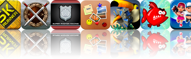 iOS Apps Gone Free: Medieval, Super Photon Racing, Tigerfish, And More