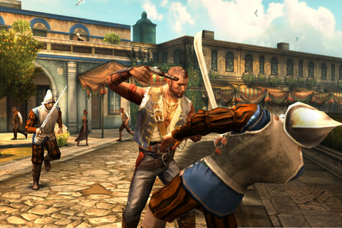 Gameloft Releases Backstab As A Universal App