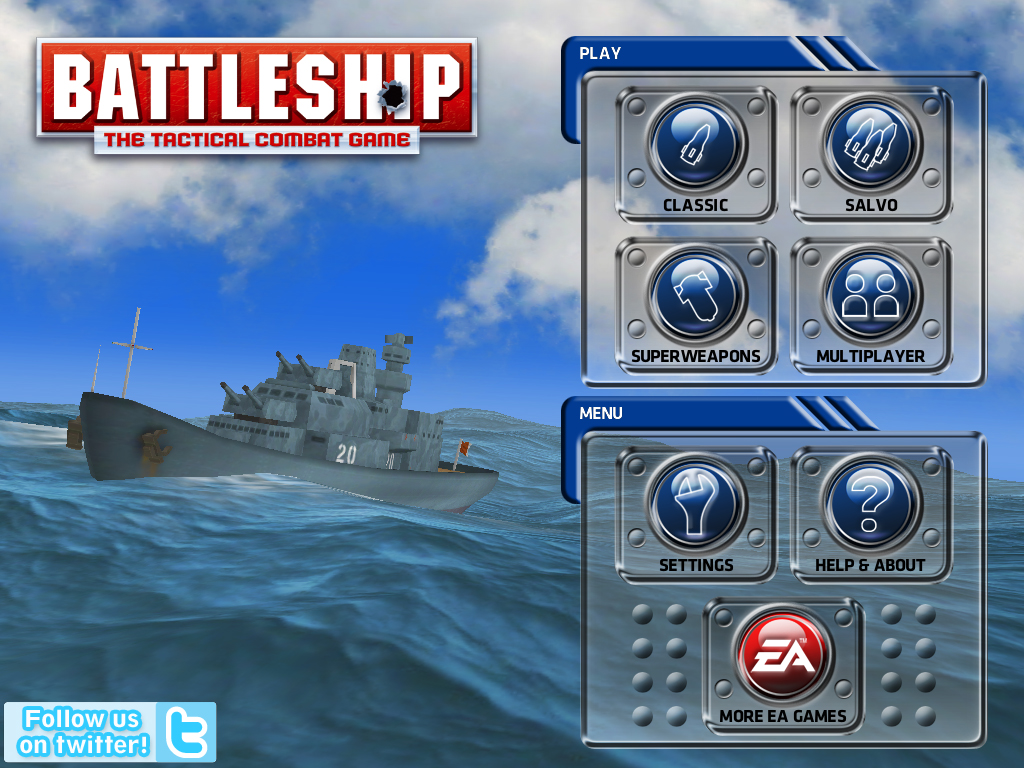 EA's Digital Version Of Battleship Finally Comes To The iPad