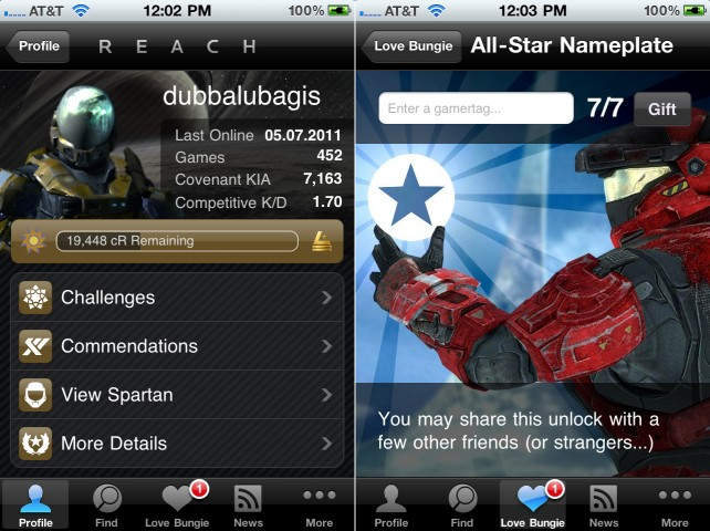 Track Your Halo: Reach Commendation And Challenge Progress With The Official Bungie Mobile App