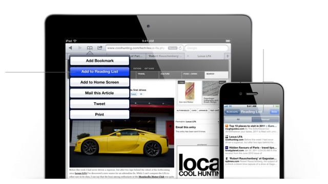 iOS 5 Reimagines Safari & Kills Need For Instapaper [Details Added]