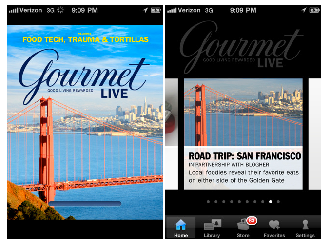 Gourmet Live Arrives On iPhone, Trip To Napa Valley Awaits One Lucky Reader