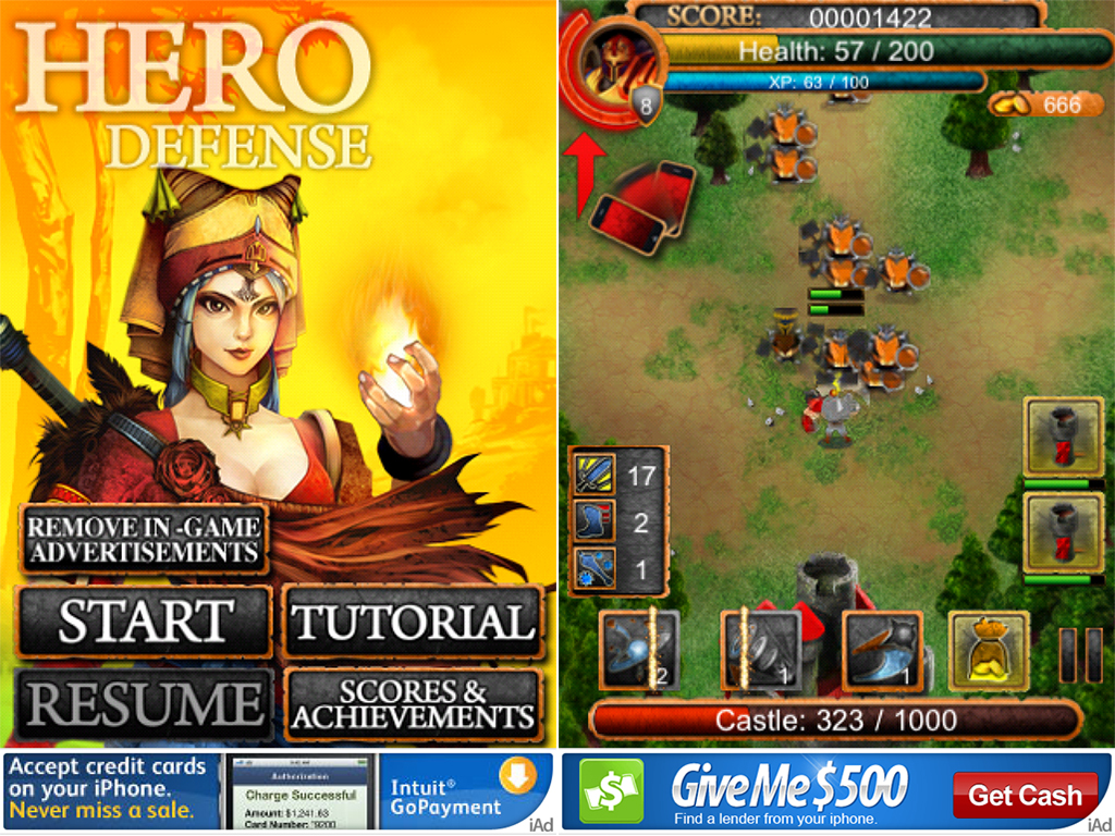 Hero Defense Redux: Take On The Evil Dwarfs In This Fast-Paced, Free Castle Defense Game