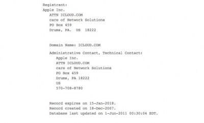 Apple Assumes Ownership Of iCloud.com Ahead Of WWDC