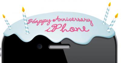 Happy Fourth Birthday, iPhone [Amazing Infographic]