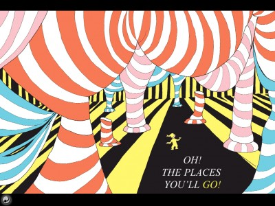 Oh, The Places You'll Go! By Dr. Seuss Is Available To Share Through The Magic Of An OmBook