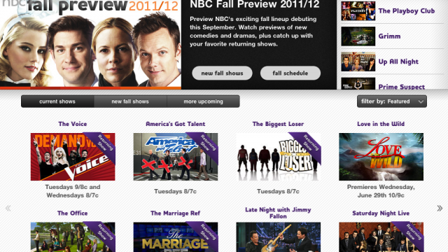 NBC's Native iPad App Arrives & Is An Utter Disappointment