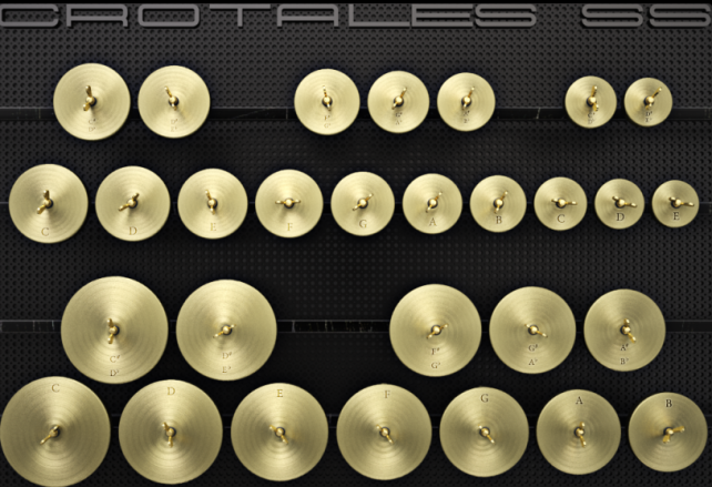 Play Antique Cymbals On Your iPad With CrotalesSS