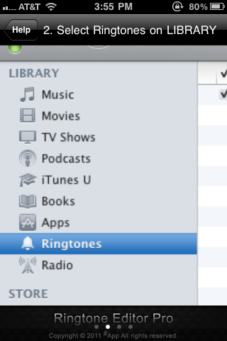 how to add ringtones to ringtone library