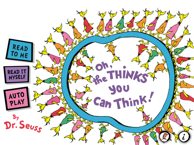Dr. Seuss's 'Oh The Thinks You Can Think!' Will Bring A Child's Imagination Alive