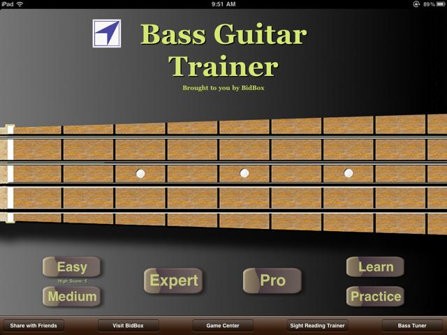 QuickAdvice: Bass Guitar Trainer