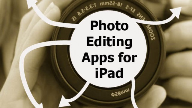 New AppList: Photo Editing On The iPad