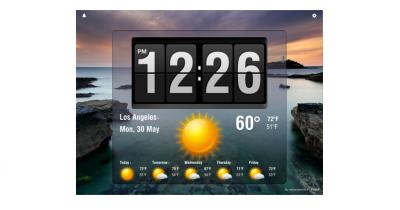 First Look: Lifelike Flip Clock HD (We Have Promos)