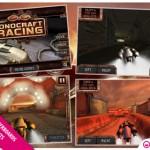 Steampunk Futuristic Racer Ionocraft Racing Hits iPhone