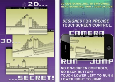 New 1-Bit Ninja Game Hits The App Store