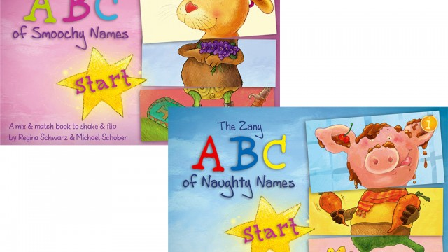 Snugly And Zany ABC Flip Flap Children's Books Turn Learning Is Fun Into Learning Is Funny