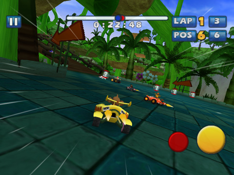 Sonic & SEGA All-Stars Racing Comes To The App Store