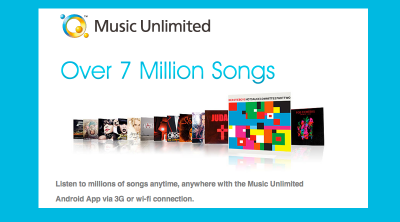Forget iCloud Beta; Sony's Music Unlimited Service Is Here Now