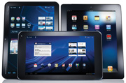 The iPad 2 Display Ranks Best In A Face-Off With Android Tablets