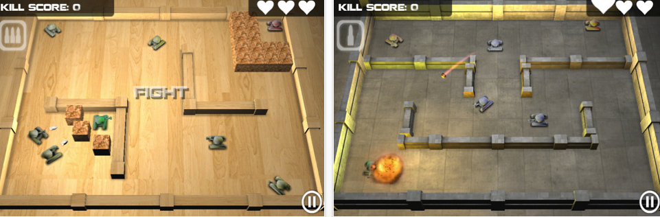 Tank Hero Now Available On The iPhone