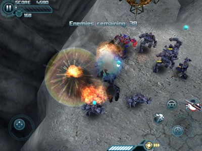 Save The Universe In Transformers: Dark Of The Moon The Official iOS Game