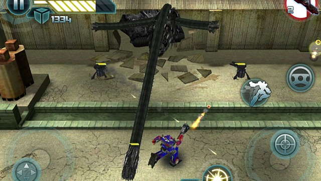 Transformers: Dark Of The Moon Official Game Teaser Trailer And Screenshots