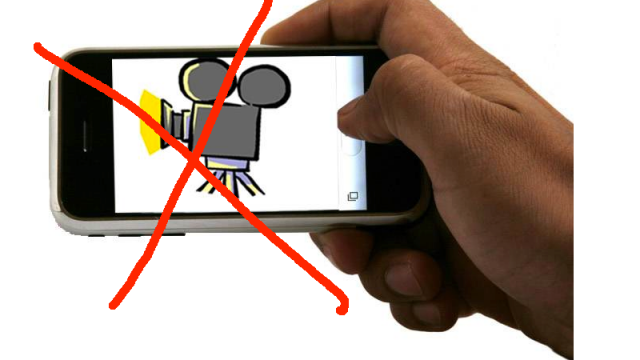 Apple Working On Way To Disable An iPhone's Camera At Live Events? [Updated]