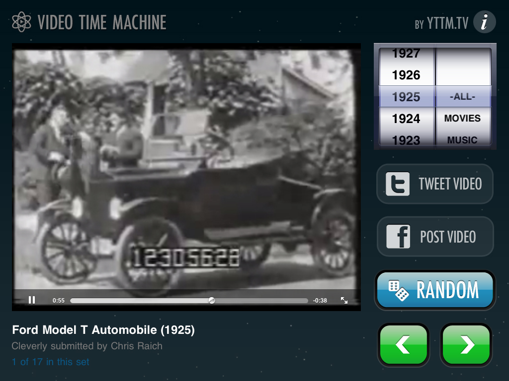 Video Time Machine Goes Universal