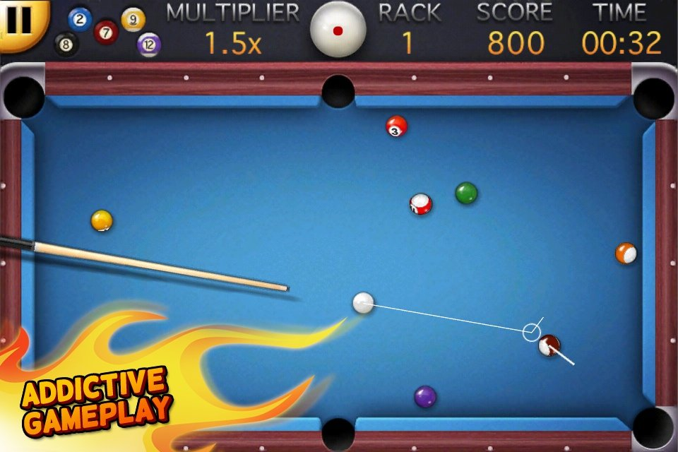 A Top-Down Perspective Pool Game Comes To The iPhone