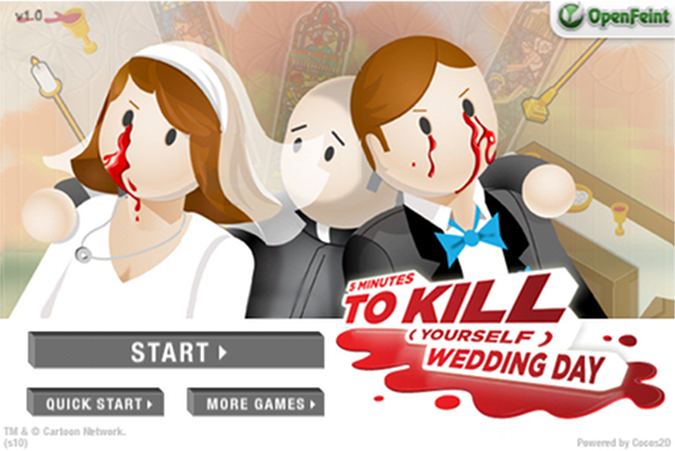 Quirky App Of The Day: 5 Minutes To Kill (Yourself) Wedding Day