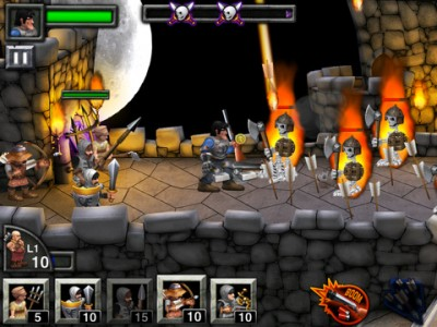 Army Of Darkness Defense HD: Campy, Creepy And Captivating iPad Gameplay