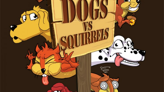 Crazy For Whac-A-Mole? Try Dogs Vs. Squirrels For iPad