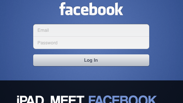 Hands On With Official Facebook Client For The iPad