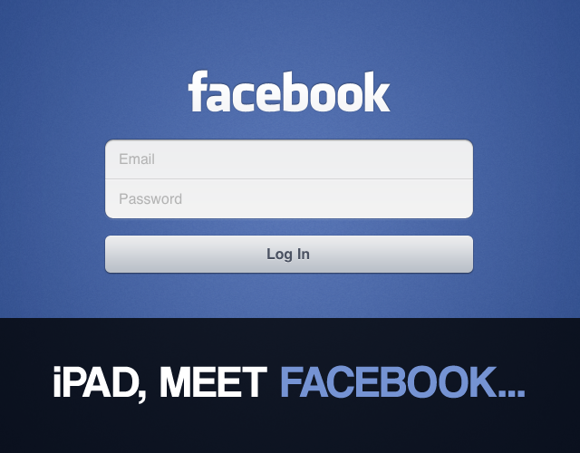 Still Up For Facebook On The iPad? Here Is How To Make It Work Again