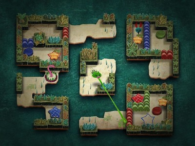 Arcade-Puzzler Gesundheit! Offers Some Amazing Visuals