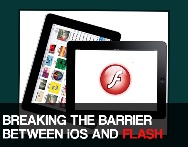 how to watch flash on ipad