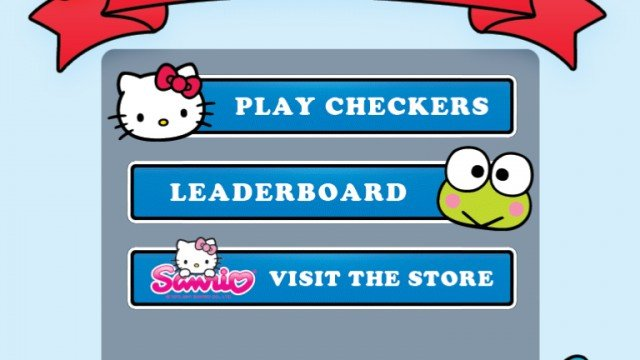 Hello Kitty Checkers Is An Adorable Twist On A Classic Game, And A Chance To Win A Copy!